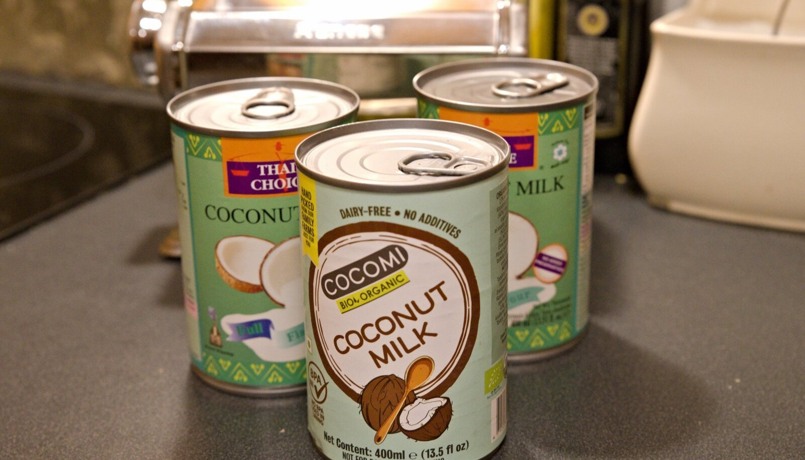 Valik kookospiima kodumaisest kaubandusest