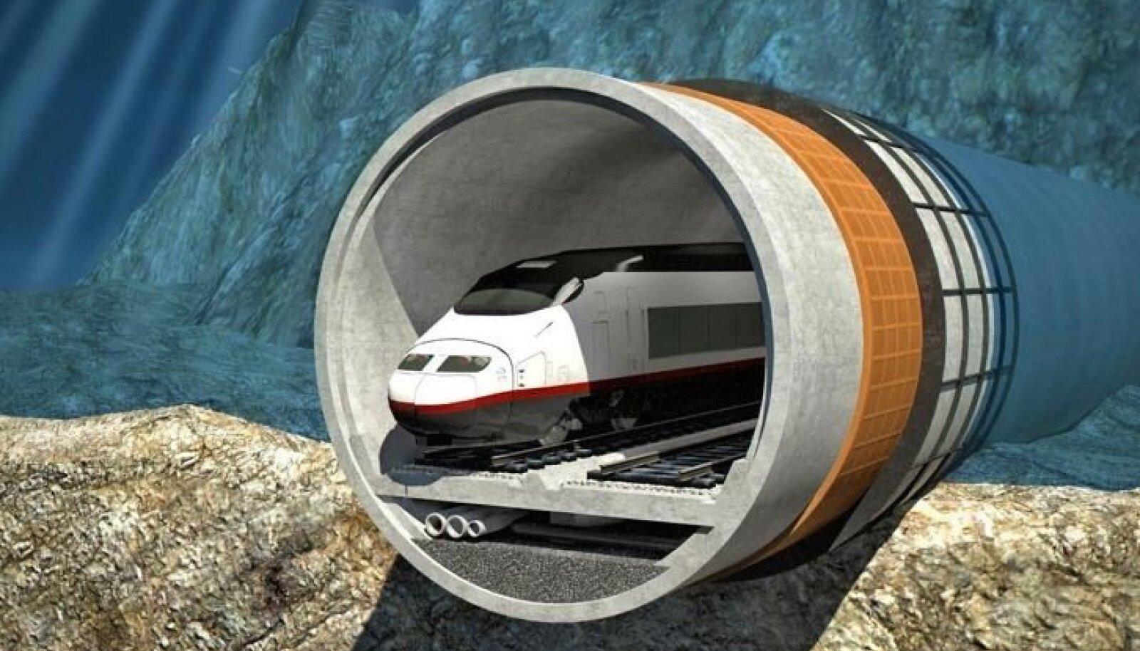 Tallinn-Helsingi tunneli lõige