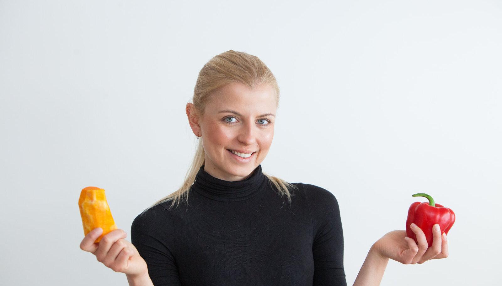 Toitumisnõsutaja Kristin Salupuu