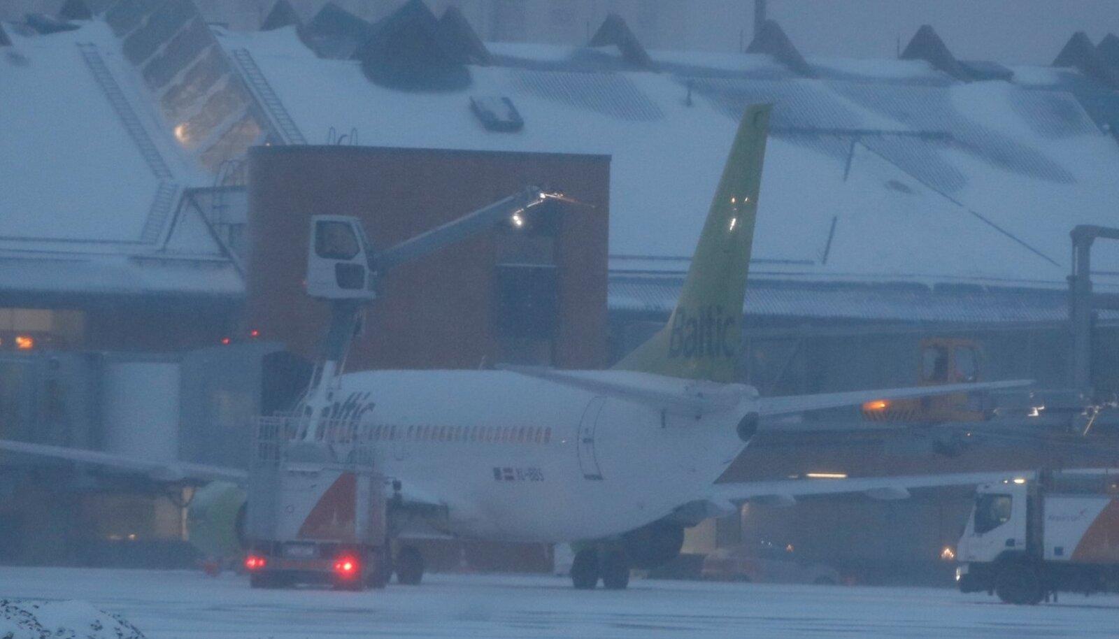 Tallinna lennujaam 02.01.2019