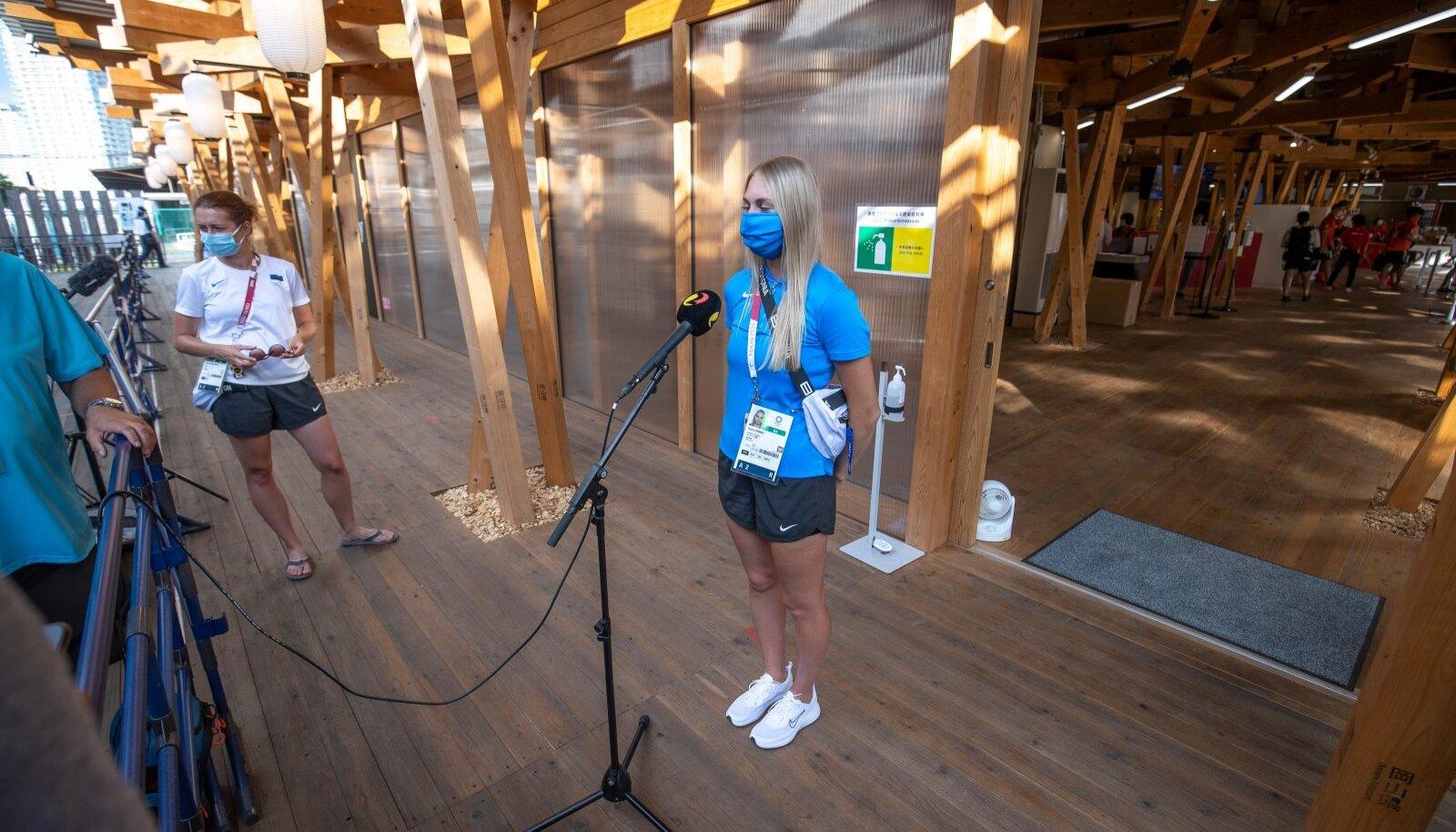 Tokyo olümpiamängude märksõnaks on piirangud. See väljendub kõiges, ka meedia ja sportlaste vahelises suhtluses.