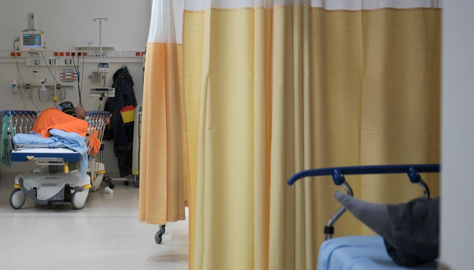 PERH-i arstid. Erakorralise meditsiini osakond