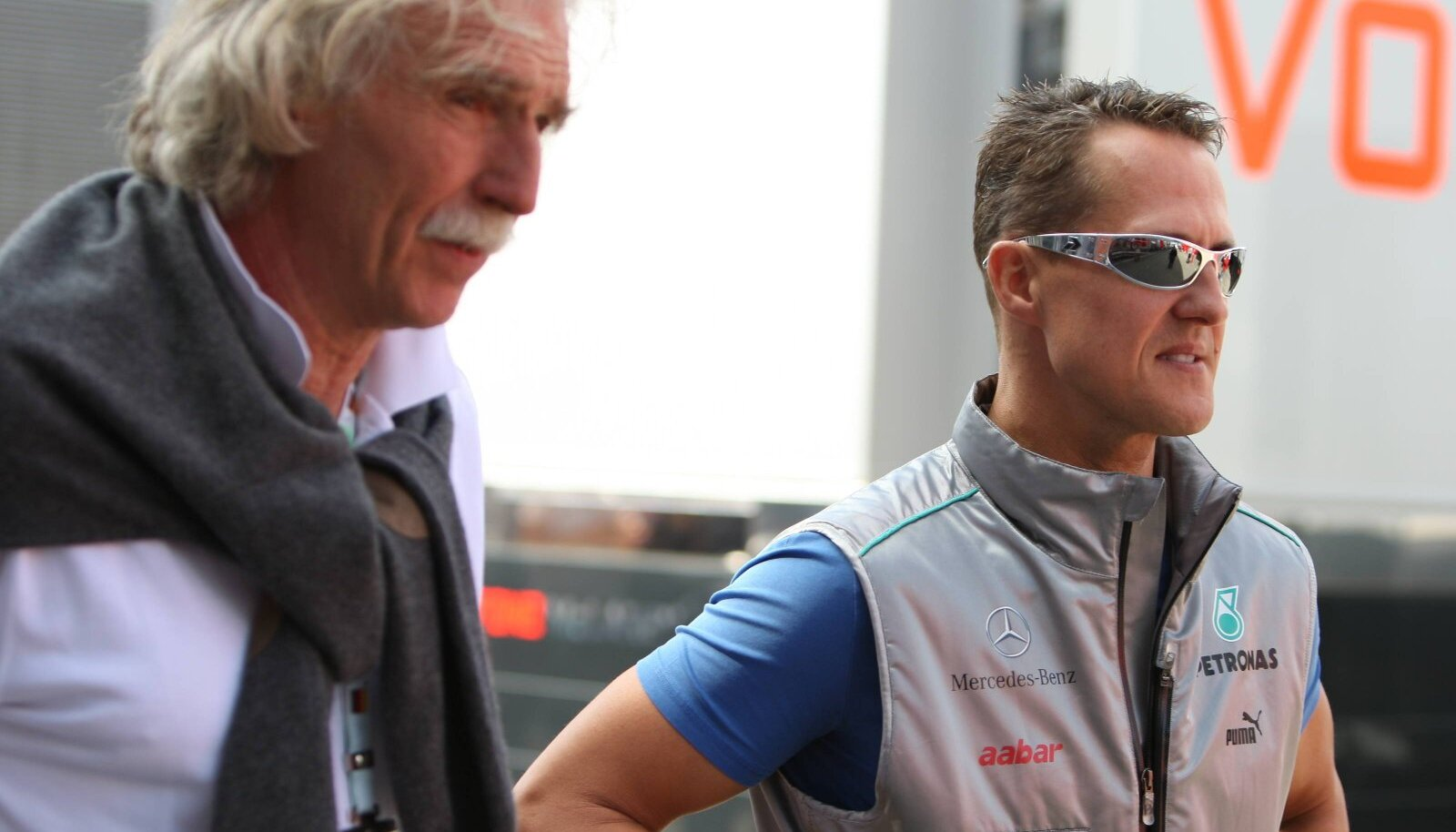 Johannes Peil ja Michael Schumacher
