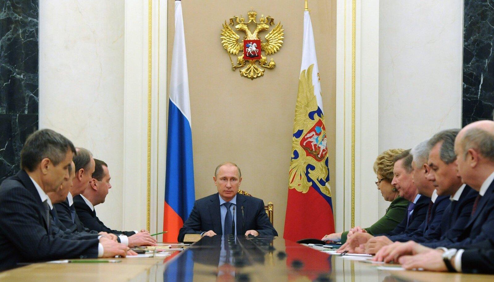 Moskva püüab jätta muljet, et nemad on Lääne ülekohtuse surve ja rünnaku all.