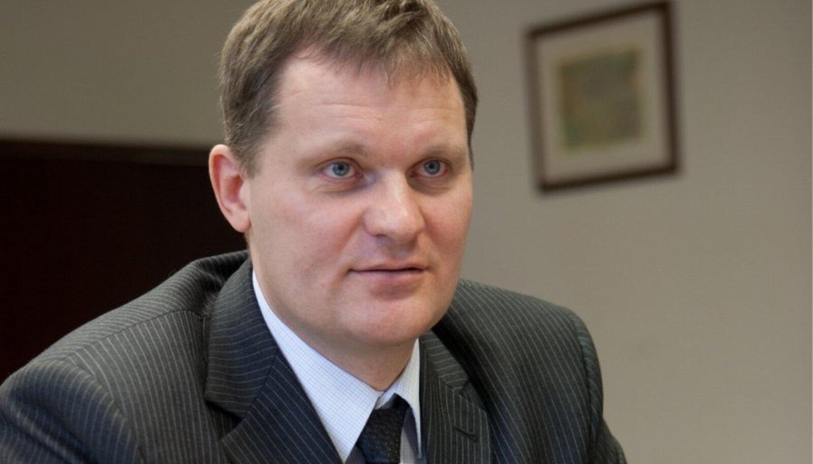 Maanteeameti peadirektori asetäitja ehituse ja arengu alal Kaupo Sirk