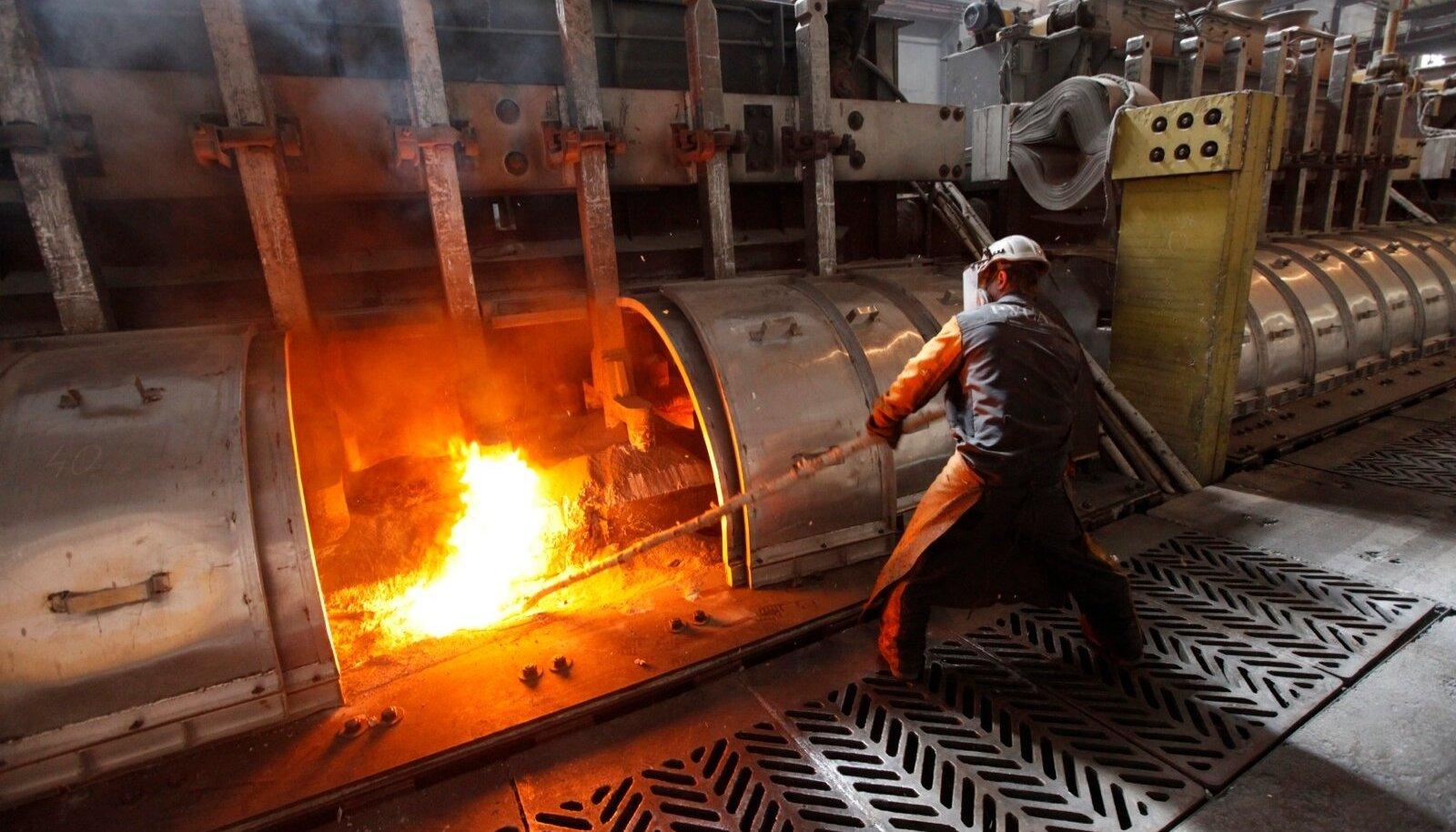 Rusali alumiiniumitehas Krasnojarskis.