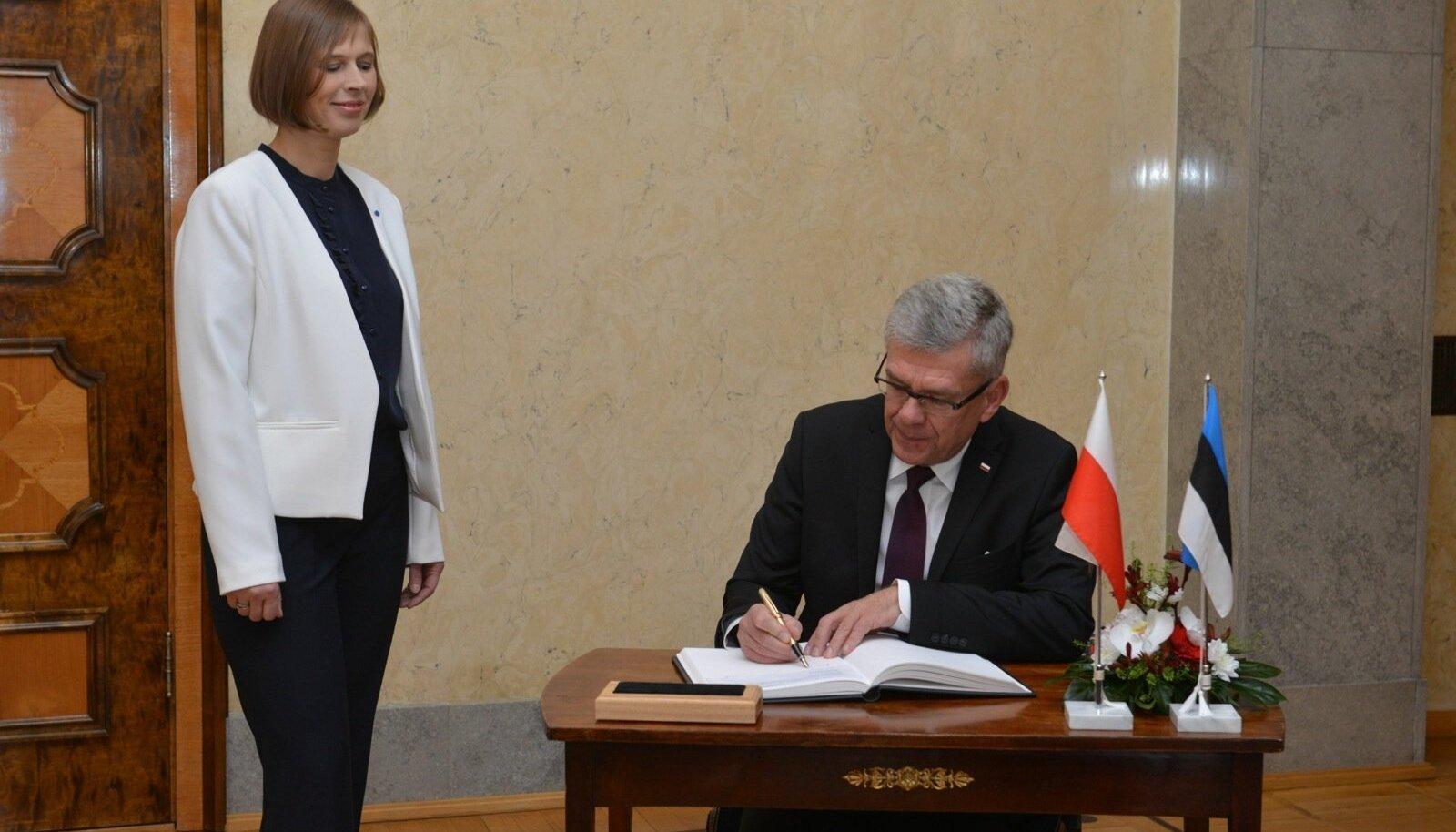 Kaljulaid ja Karczewski