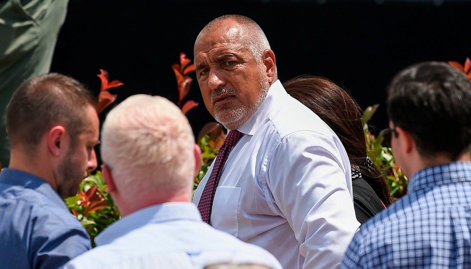Bulgaaria hätta sattunud peaminister Boyko Borisov augusti algul Sofias erakonna kongressil.