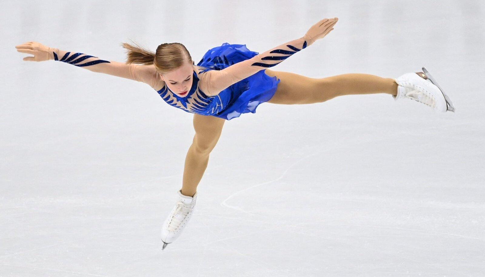 Eva-Lotta Kiibus saavutas iluuisutamise MM-il naiste üksiksõidus 14. koha.