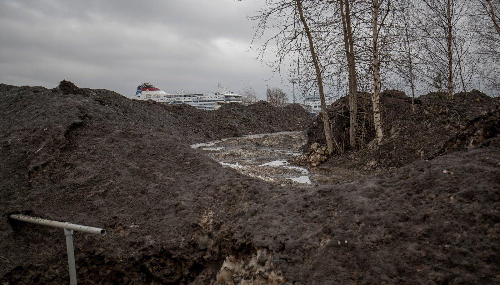 Tänavatelt korjatud lumes on nii raskmetallid, põlemisest tekkinud peenosakesed kui rehvide ja asfaldi kulumise jäägid.