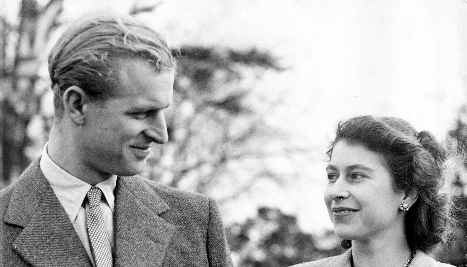 Philip ja Elizabeth oma mesinädalatel 1947. aasta novembris