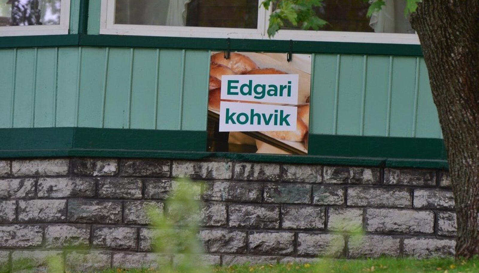 Edgari kohviku reklaam