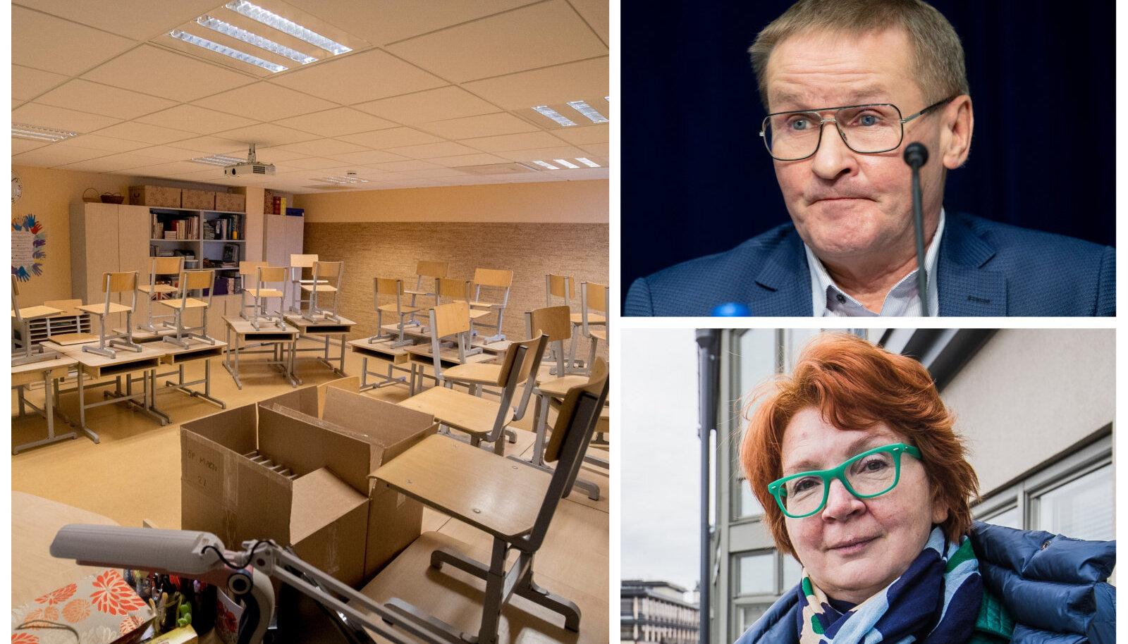Keskerakondlased eestikeelsele haridusele üleminekuga kiirustada ei soovi