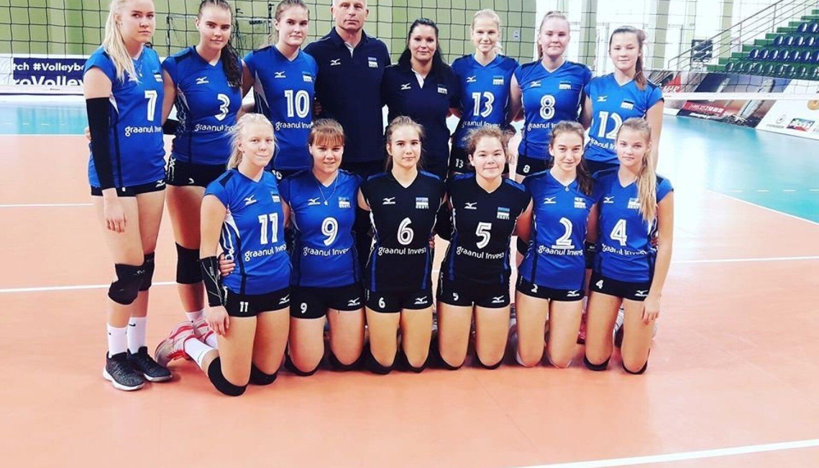 Eesti neidude U16 võrkpallikoondis