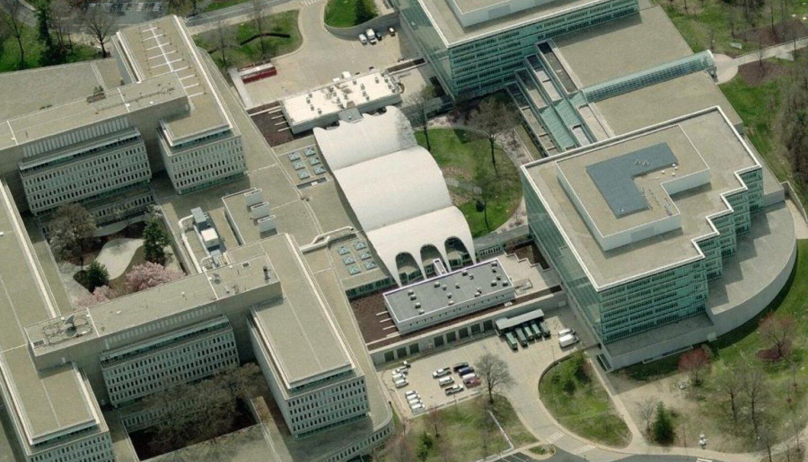CIA peakorter Langleys. Foto: https://cryptome.org