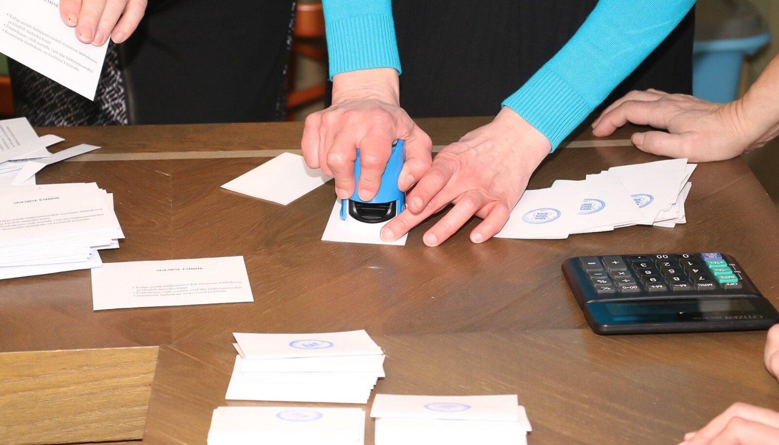 Riigikogu valimised 2019, häälte lugemine, valimispeod