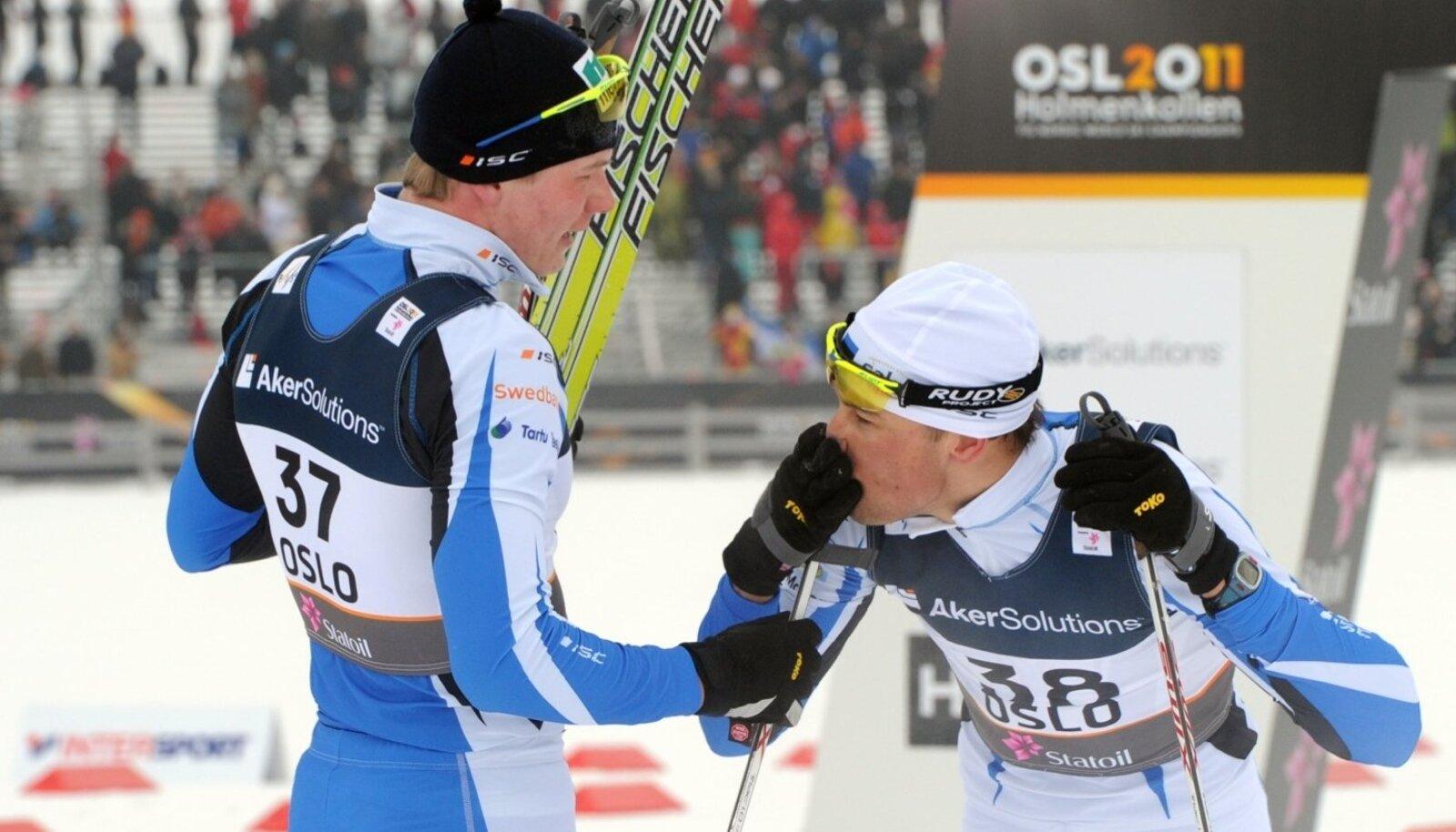 Suusatamise MM Oslos.Meeste 15 km. klassika