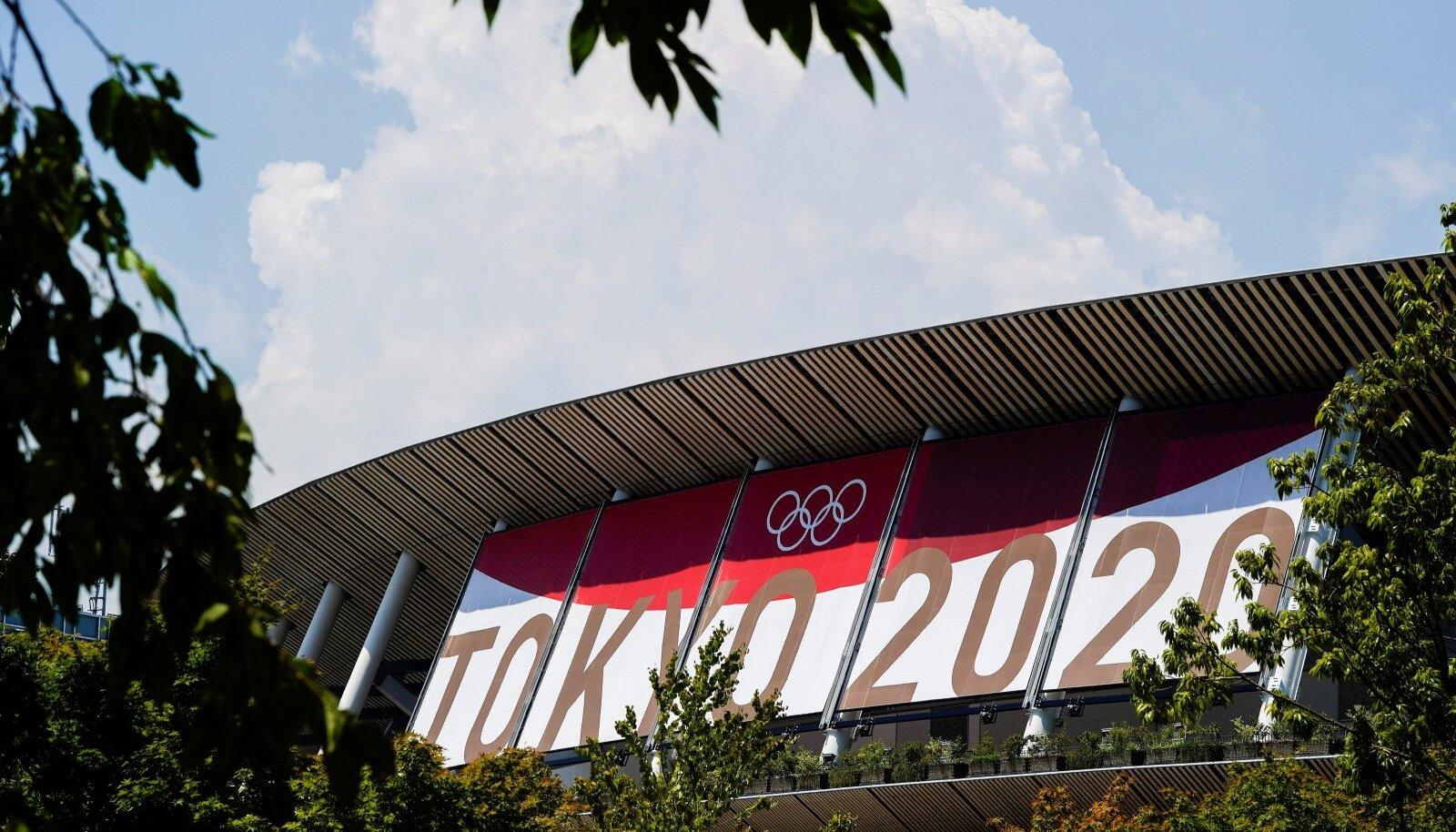 Rahvusstaadion Tokyos on olümpiamängude ootel.