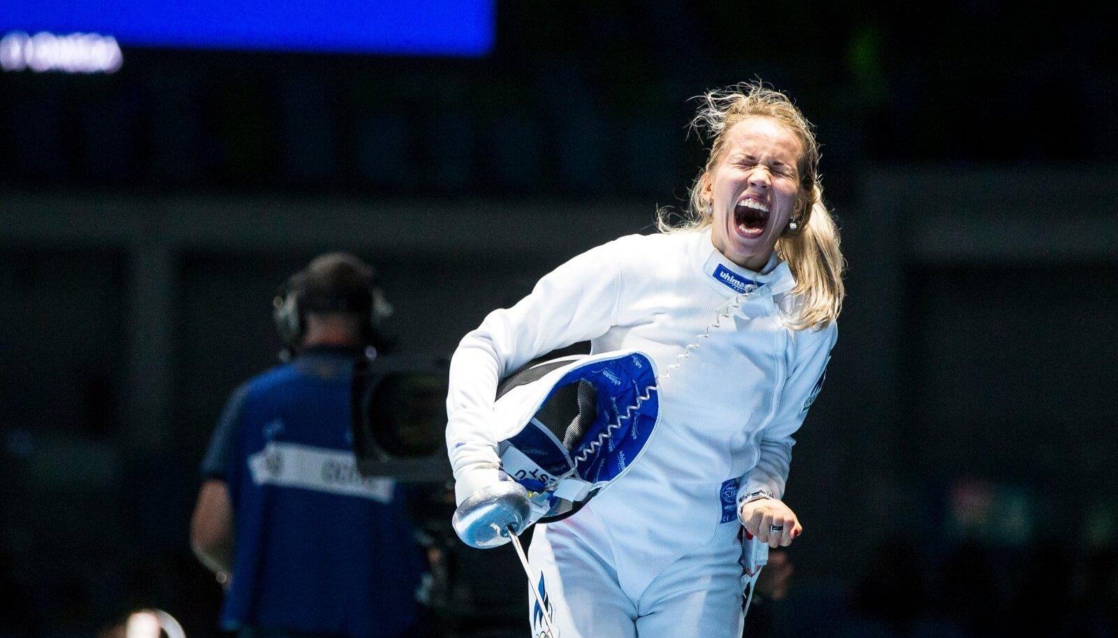 Erika Kirpu Rio olümpial. Kas seekord on põhjust välja lasta veel suurem rõõmumöire?
