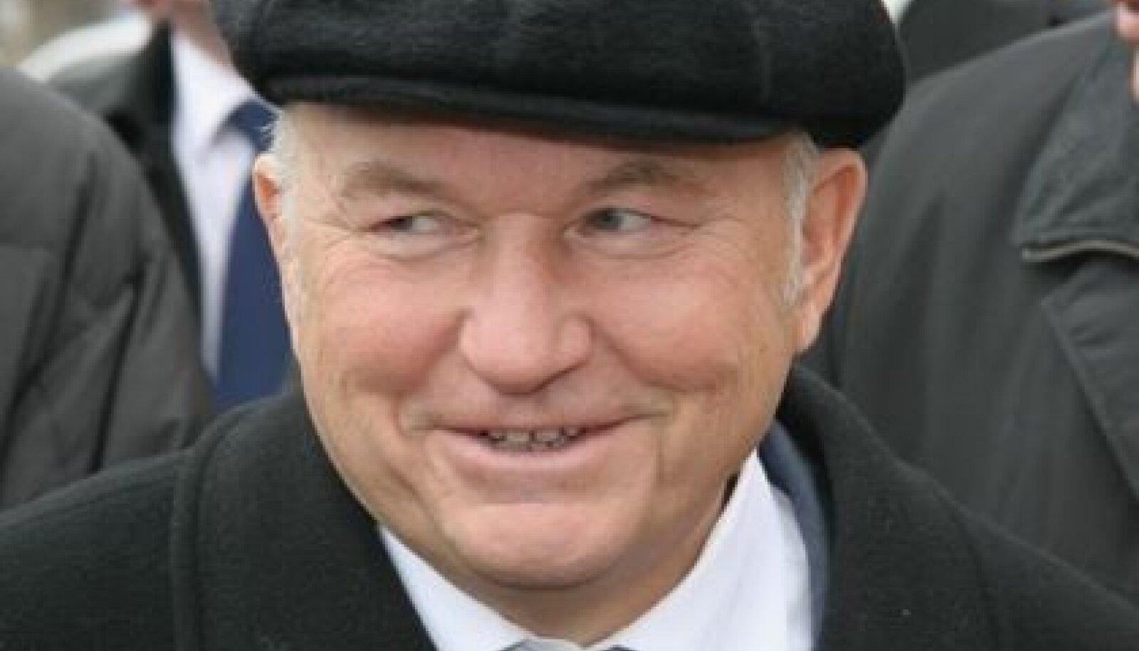 Moskva pikaaegne linnapea Juri Lužkov