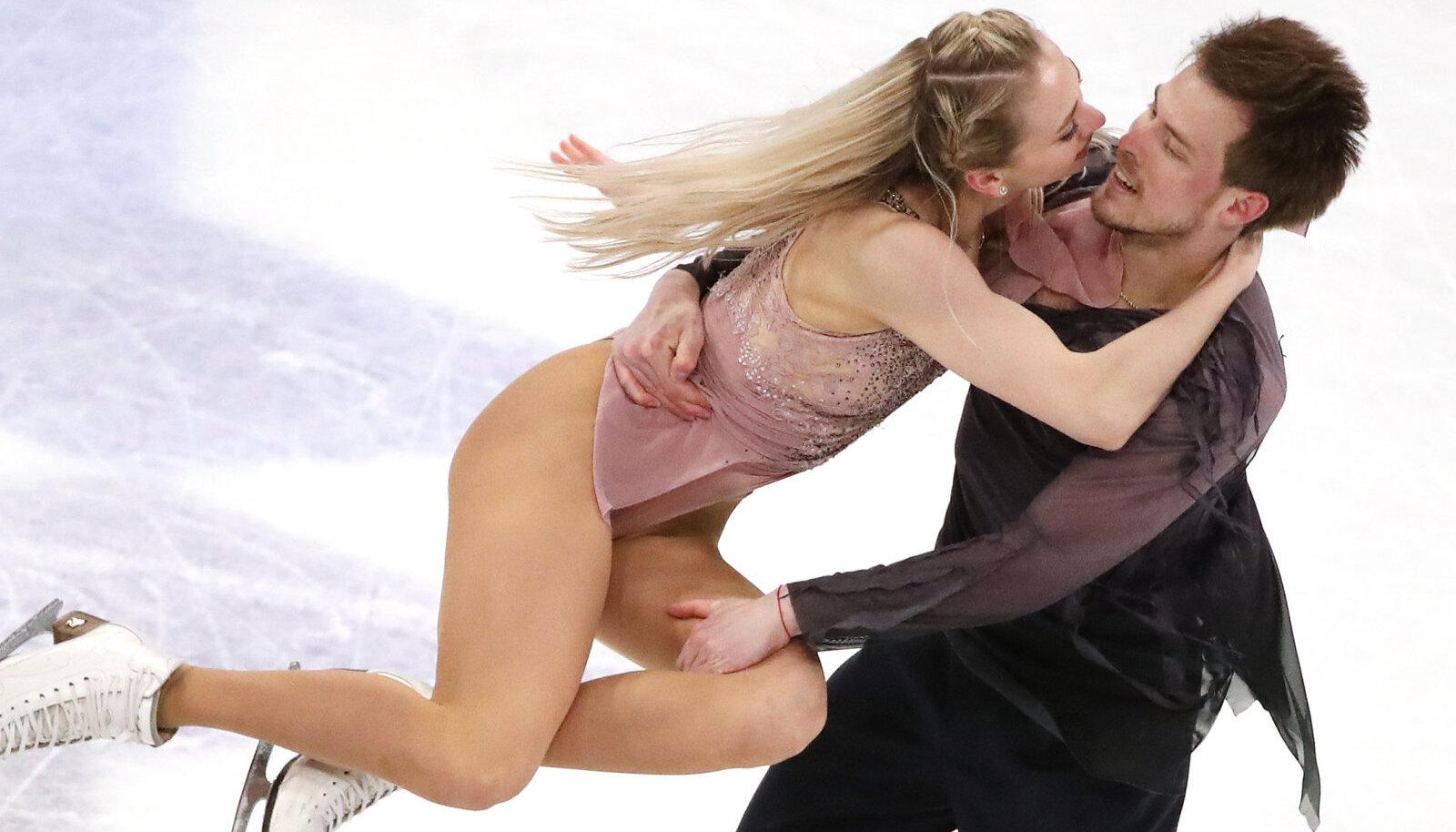 Viktoria Sinitsyna ja Nikita Katsalapov