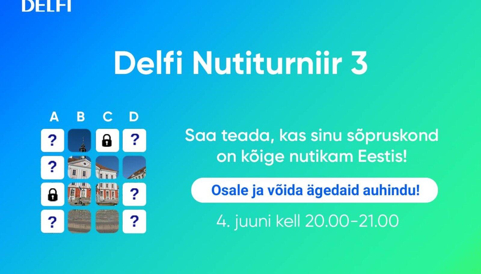 Delfi Nutiturniir 3