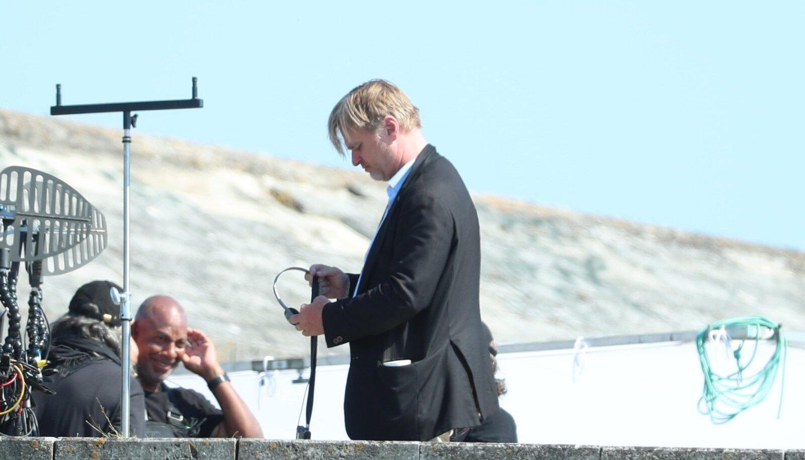 """Christopher Nolan """"Teneti"""" võtetel"""