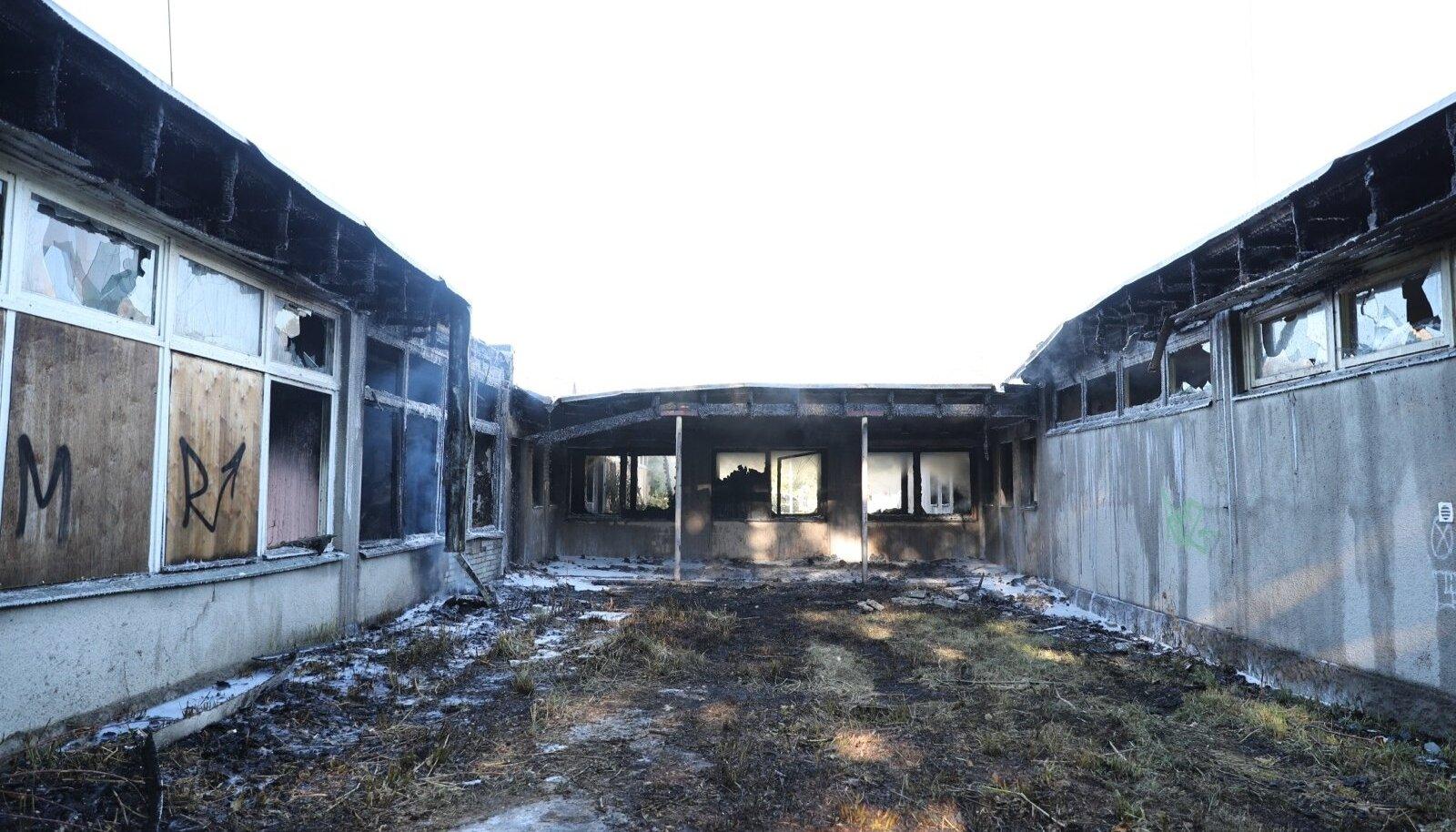 Viimsis põles endine Piilupesa lasteaed