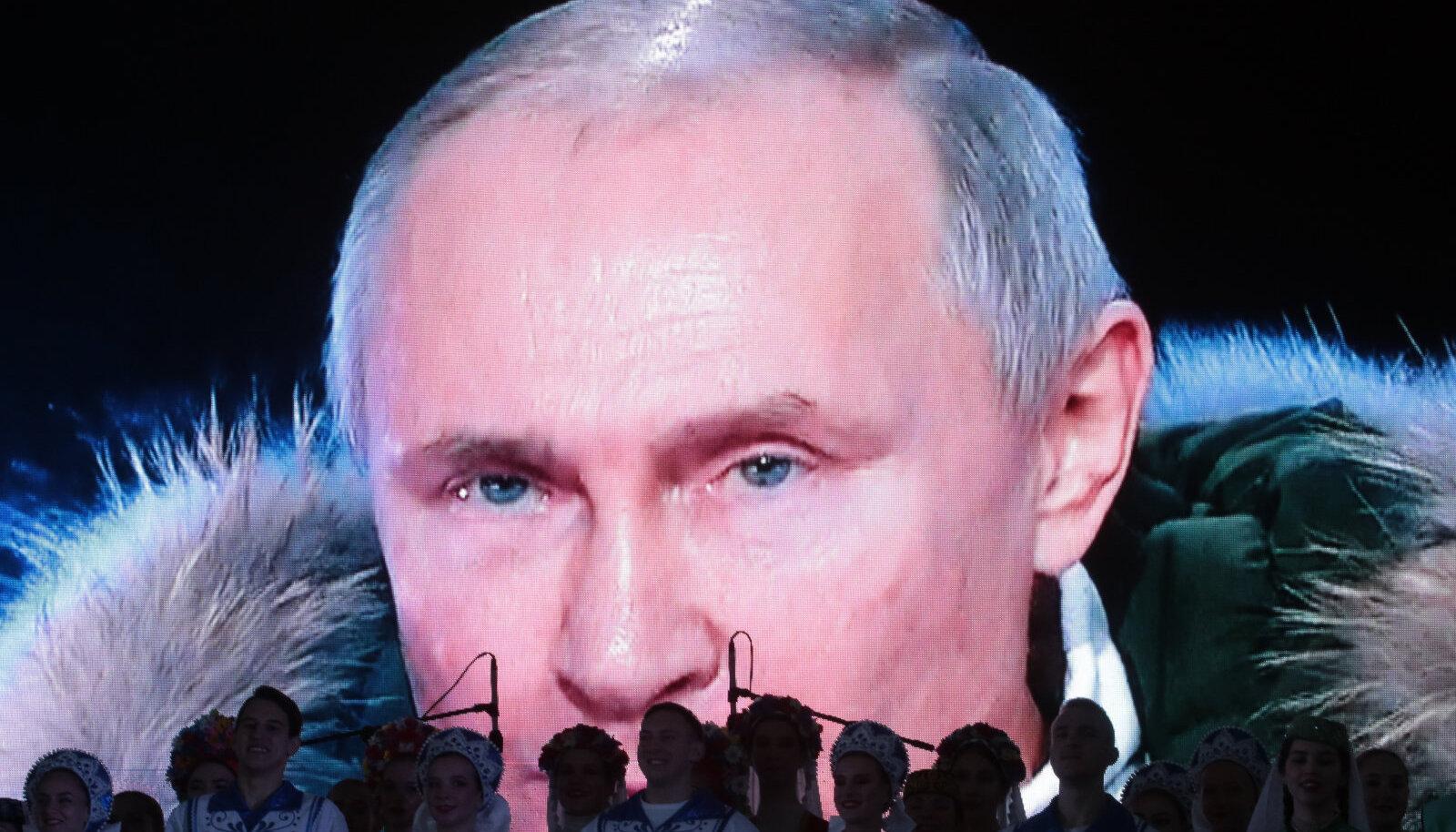 Putin esineb videosilla vahendusel krimlastele
