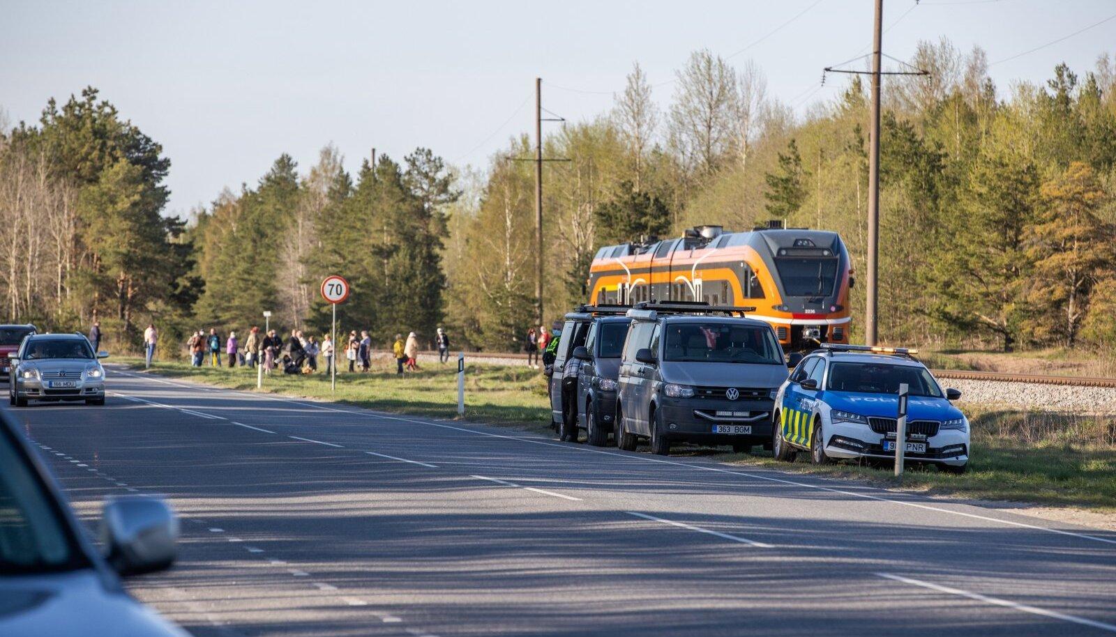 Rongiõnnetus Männiukul. Pilt on illustreeriv.