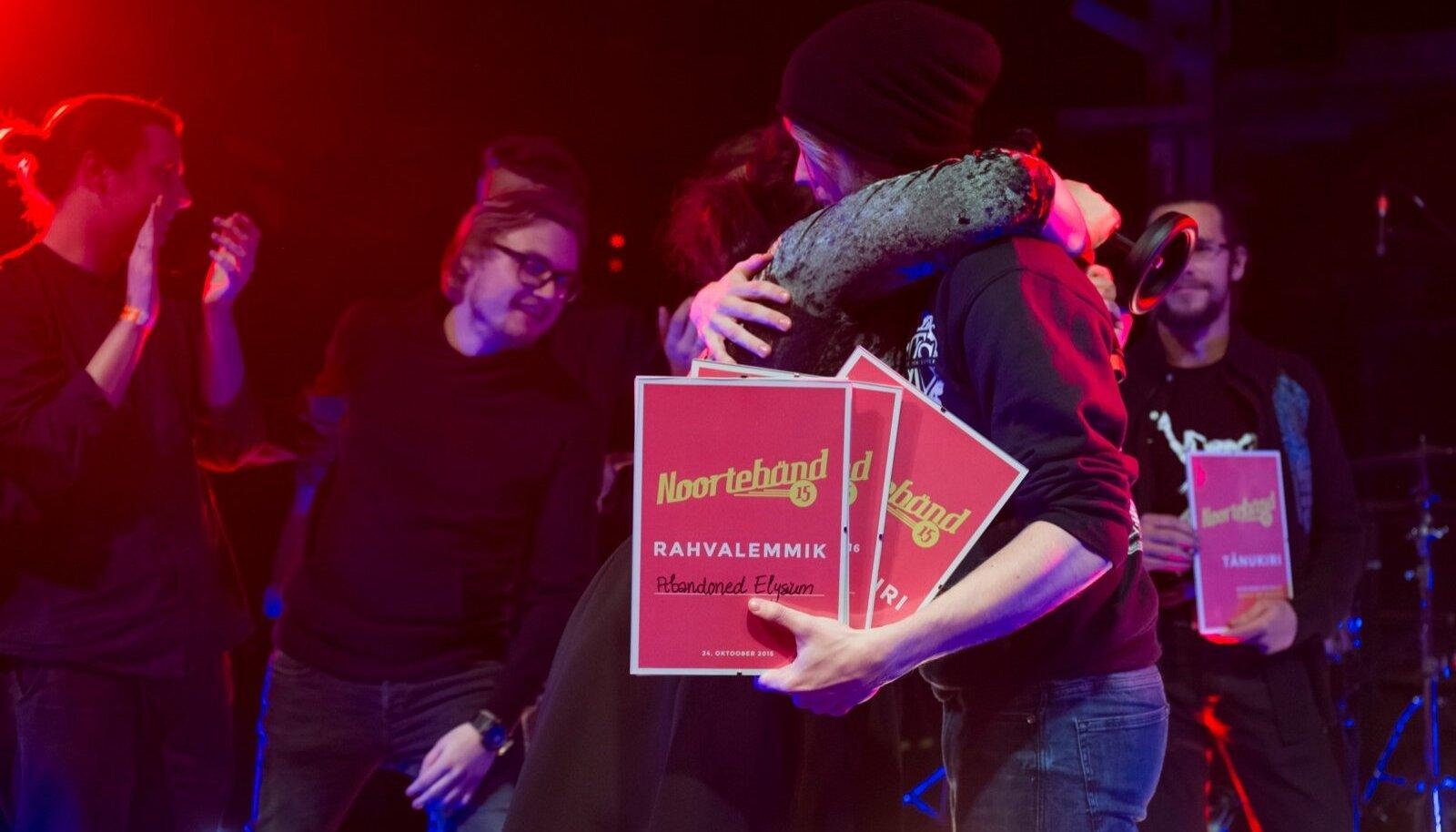 Noortebändi finaal 2015