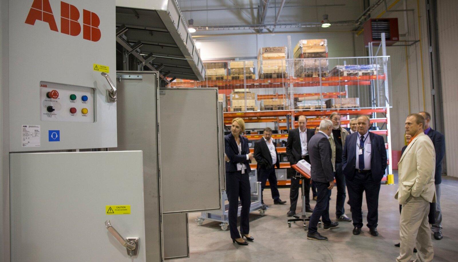 ABB AS-i ajamite ja taastuvenergiaseadmete tehase laienduse avamine