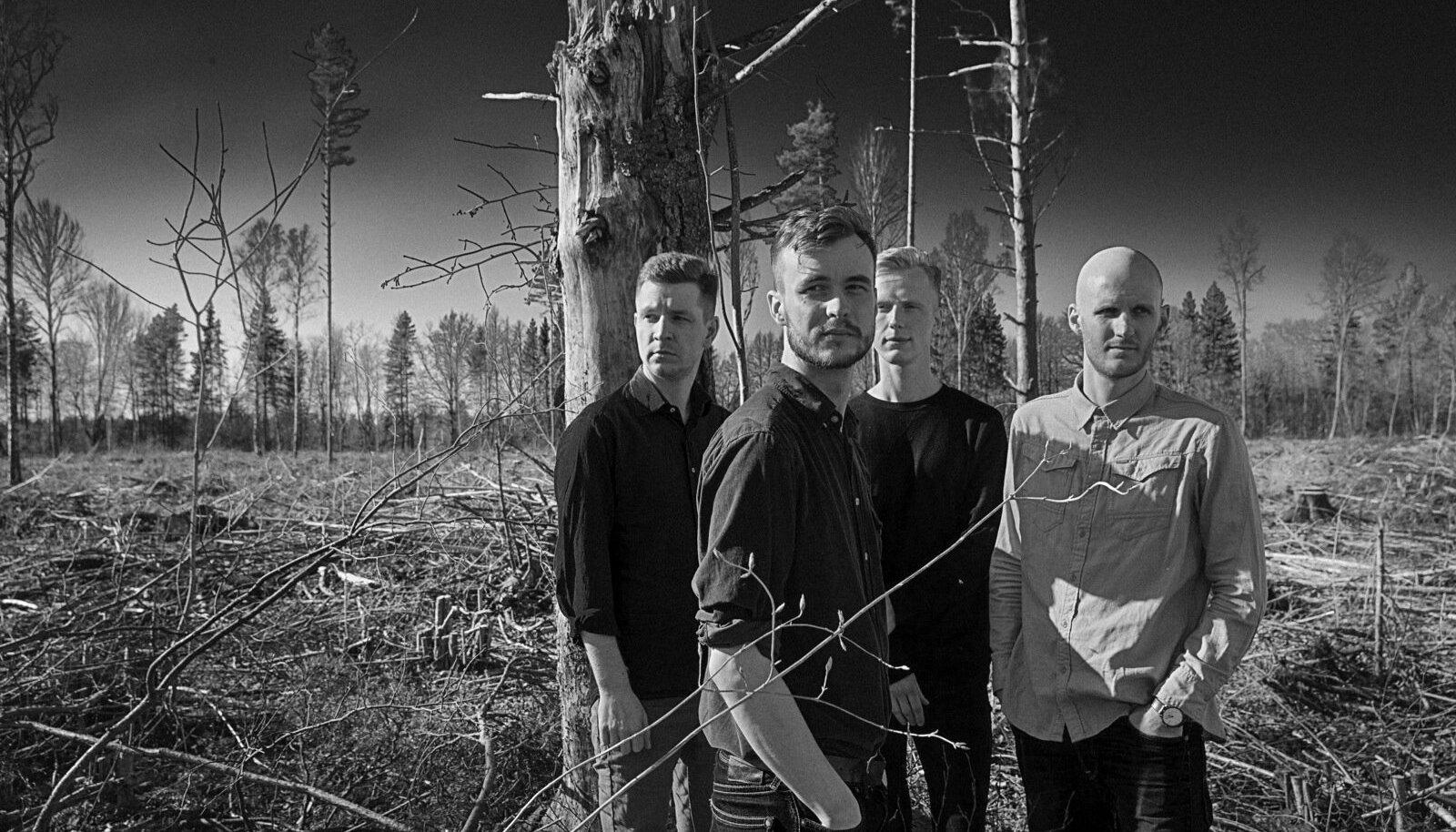 MILJARDID KUSAGIL LÄÄNES: (vasakult) Kristjan Kallas, Marten Kuningas, Raul Ojamaa ja Peedu Kass.