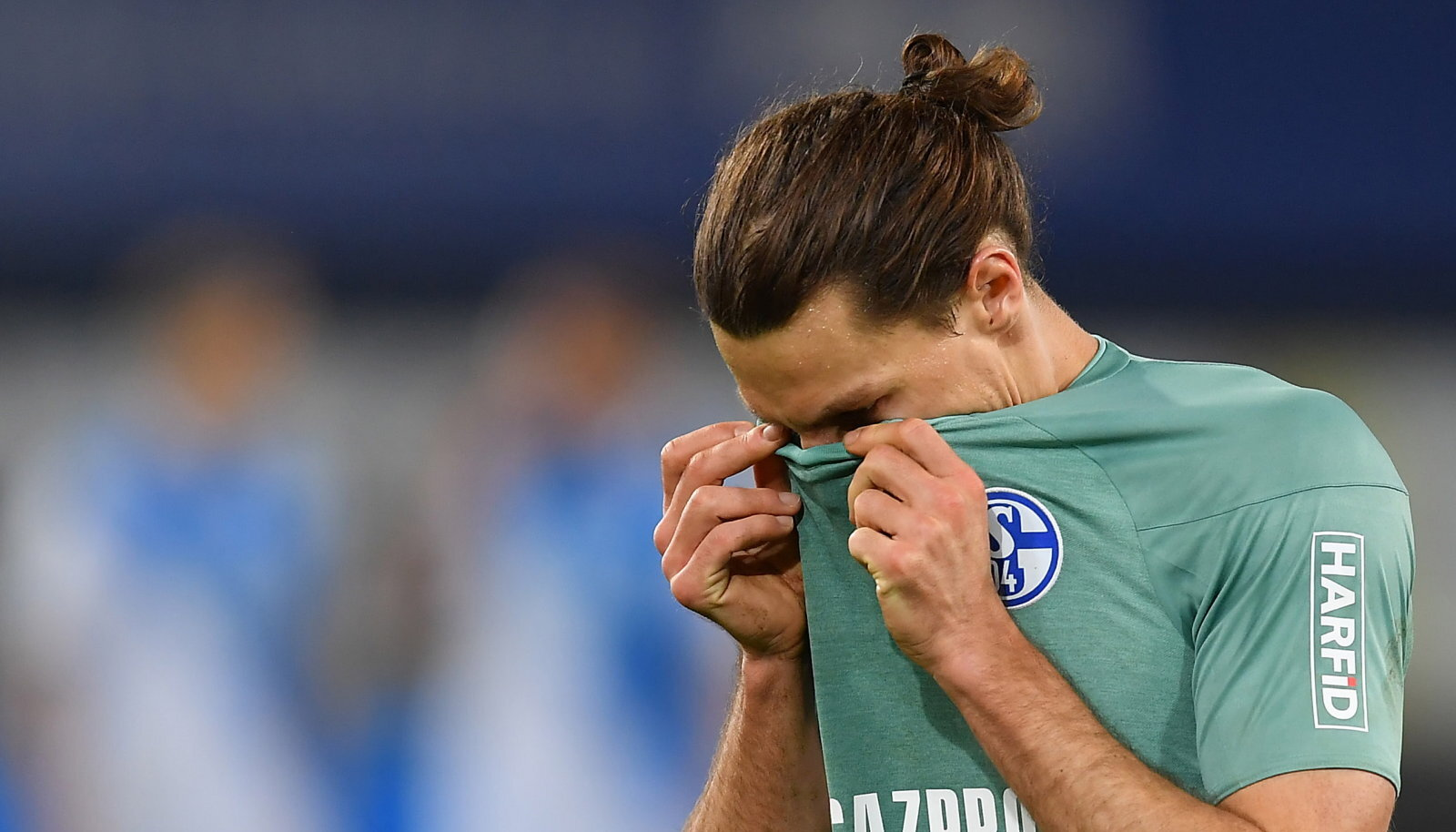 Schalke mängija Benjamin Stambouli.