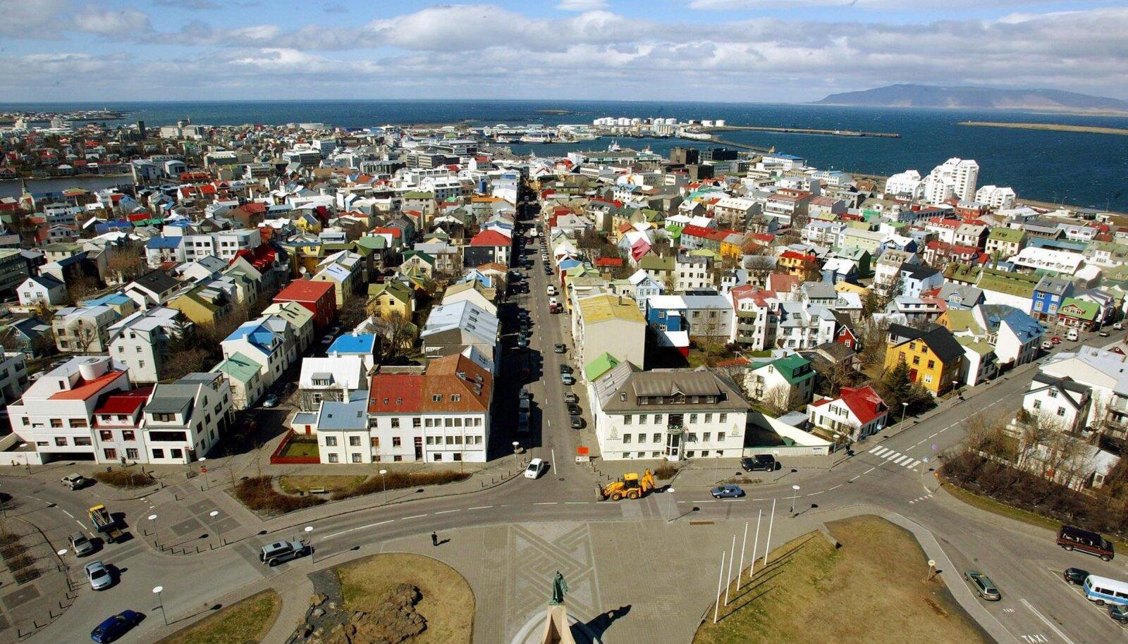 Islandi pealinn Reykjavik