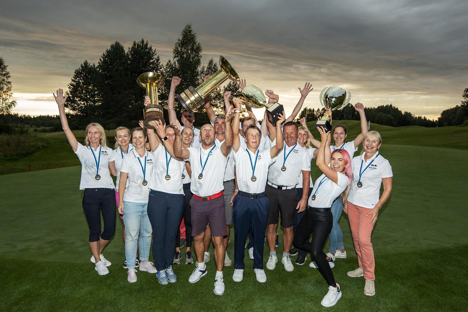Niitvälja Golfiklubi krooniti Eesti parimaks: