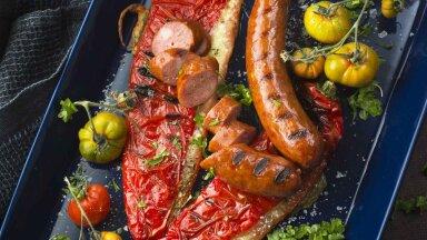 RETSEPT | Mõnus kombo: lihtne paprika-mozzarella lisand grilli kõrvale