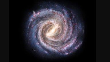 Linnutee galaktika (pilt: Pablo Carlos Budassi / CC BY-SA 4.0 / Wikimedia Commons)