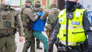 Mees ei allunud politseinike käsklustele.