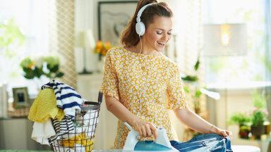 Perenaine, pane kõrva taha! Kuidas muuta pesu pesemine ja triikimine lihtsamaks?