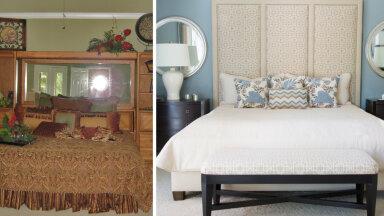 ДО и ПОСЛЕ | Дизайнер преобразила старую и захламленную спальню в настоящий идеал — как в роскошном отеле!