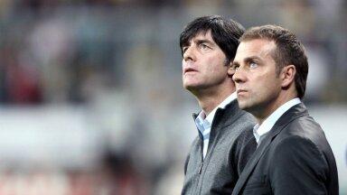 Hansi Flick (paremal) töötas 2006.-2014. aastani Saksamaa koondises Joachim Löwi abitreenerina.