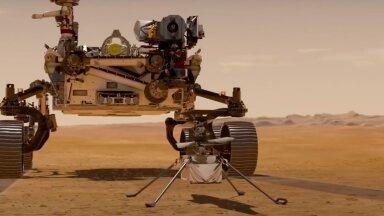 ВИДЕО | Первые дни Perseverance на Марсе