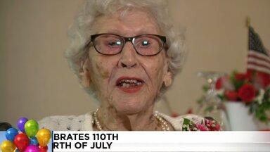 110-летняя долгожительница поделилась секретом долголетия