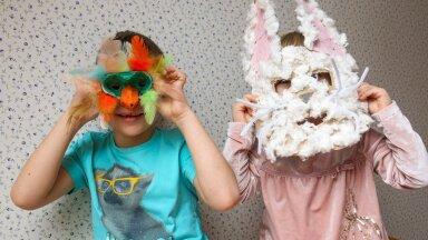 Meisterdamist lastele: lihtsate vahenditega vahvad loomamaskid!