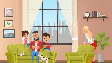 Laps vaidleb pidevalt vastu ja sina vihastad selle peale? Tee nii ja sinu peres ei kakelda enam kunagi