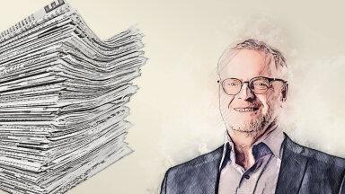 Hans H. Luik jõuab esimese kuueni ehk Niimoodi liigub tark mees, raha taskus