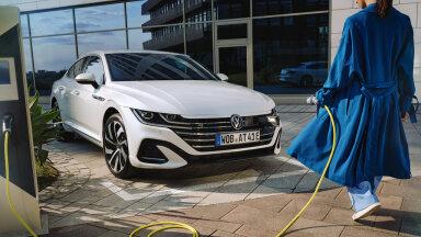Volkswagen Arteon pistikhübriidina (tootja foto)