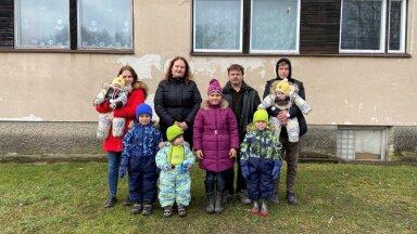 """""""Kodutunne"""" aitab täna kolmetoalises korteris elavat 11-lapselist suurpere"""