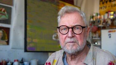KLASSIK: Aasta lõpus 80 aasta juubelit tähistav maalikunstnik Tiit Pääsuke.